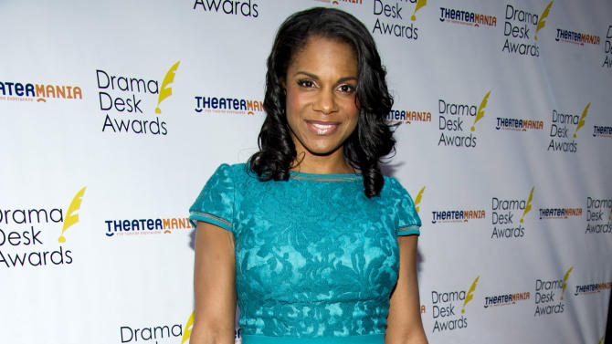 Audra McDonald arrives at the 57th Annual Drama Desk Awards on Sunday, June 3, 2012, in New York. (Photo by Charles Sykes/Invision/AP)
