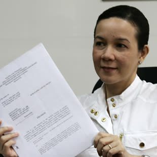 MTRCB Chairwoman Mary Grace Poe-Llamanzares (Photo by Bernard Testa/NPPA Images)