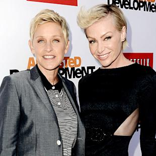 "Ellen DeGeneres Denies Marriage Problems With Portia De Rossi: ""Very Happily Married"""