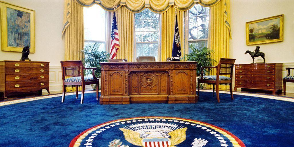 Here's How President Trump Has Already Redecorated the Oval Office