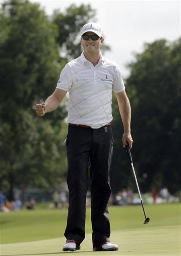 Zach Johnson always feels good at Colonial