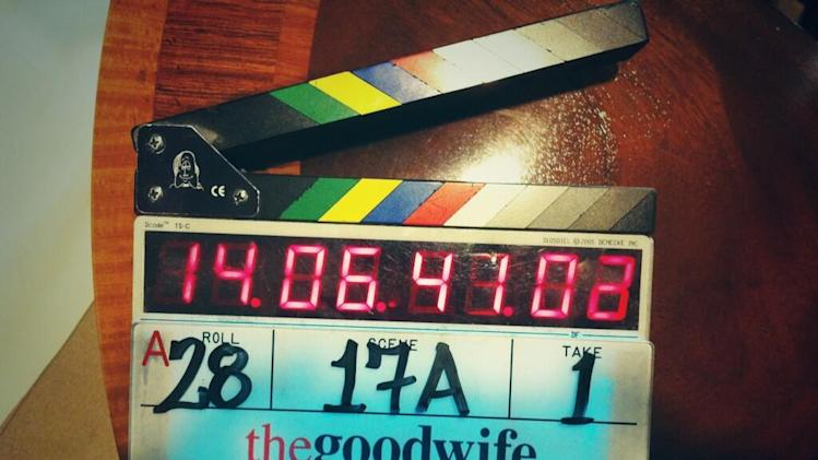 Right mow @TheGoodWife_CBS