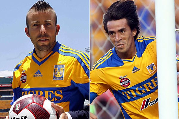 Tigres: Luis Garca Fernndez y Lucas Lobos. Mexsport