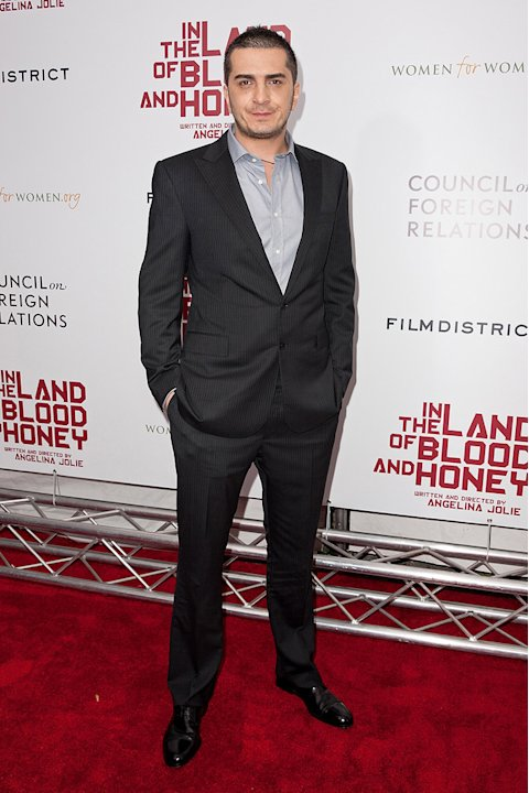 In the land of Blood and honey NY Premiere 2011 Fedja Stukan
