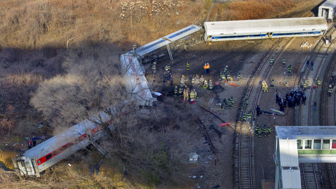 NTSB: 2nd data recorder found in derailed NY train