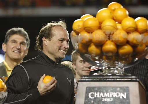 West Virginia routs Clemson 70-33 in Orange Bowl