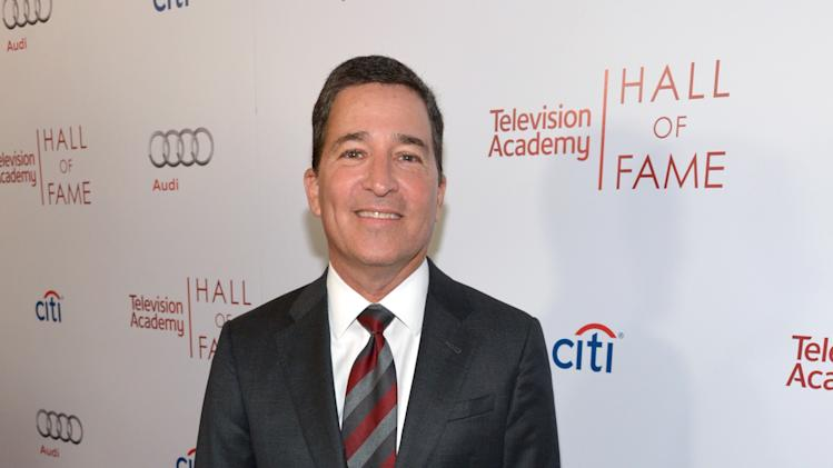 Bruce Rosenblum, Chairman & CEO of The Television Academy, arrives at the 2014 Television Academy Hall of Fame on Tuesday, March 11, 2014, at the Beverly Wilshire in Beverly Hills, Calif. (Photo by John Shearer/Invision for the Television Academy/AP Images)