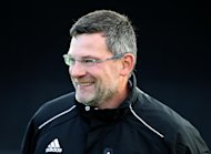 Craig Levein is glad to see some positives for Scottish football