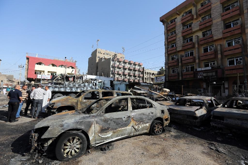 24 killed in Baghdad suicide attack claimed by IS
