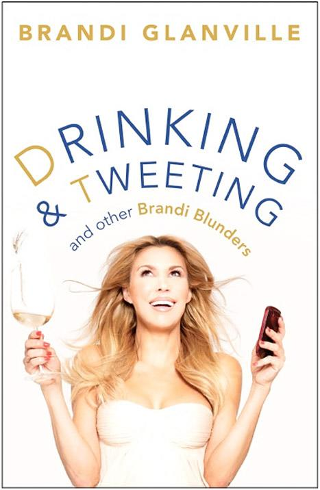 Brandi Glanville Drinks, Tweets on Book Cover for New Memoir