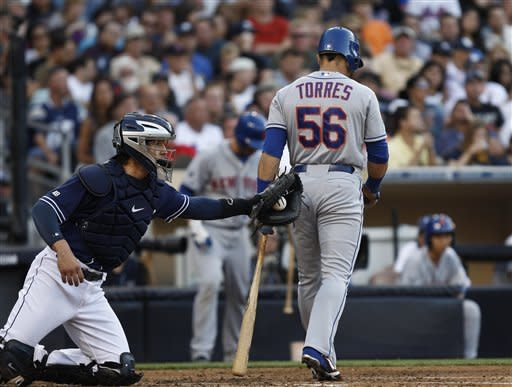 Mets upend Padres 6-2