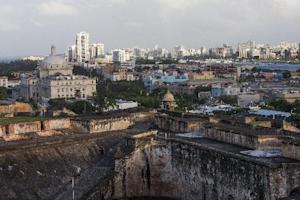Old San Juan, the center for Puerto Rican tourism,…