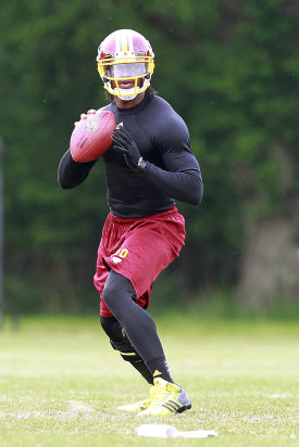 Robert Griffin III alluded to differences with Mike Shanahan. (USA TODAY Sports)
