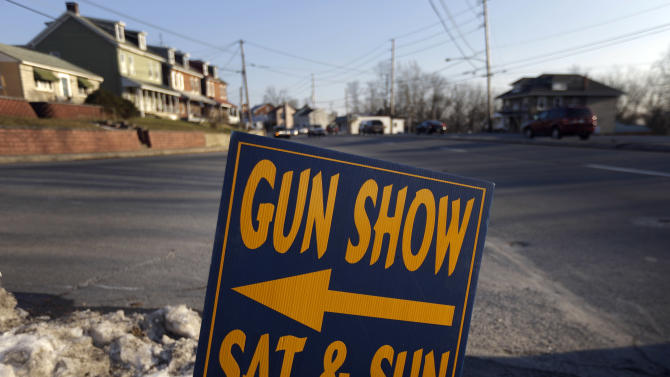 Gun shows face new scrutiny after school shooting