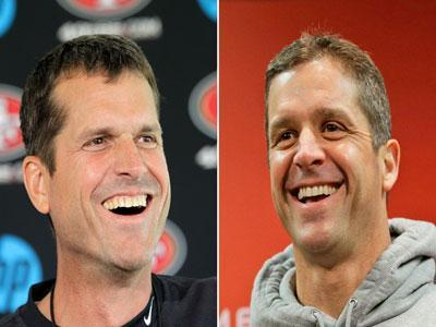 Harbaugh Brothers Talk Super Bowl Rematch