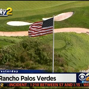Commission To Meet On American Flag's Fate At Trump National Golf Course