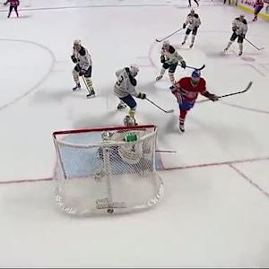 Brandon Prust sets up Tomas Plekanec