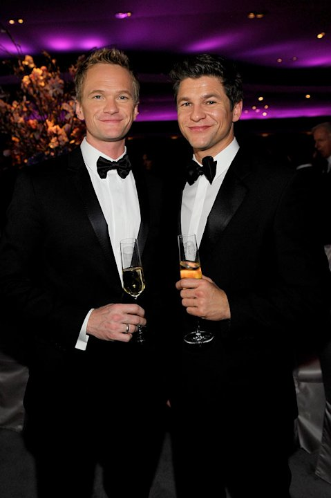 Neil Patrick Harris and David Burtka attend the 82nd Annual Academy Awards Governor's Ball held at Kodak Theatre on March 7, 2010 in Hollywood, California. 