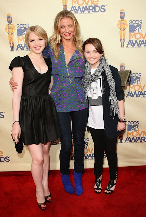 MTV Movie Awards 2009 Cameron Diaz Sofia Vassilieva Abigail Breslin