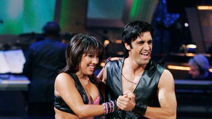 "Gilles Marini and Cheryl Burke perform the Jive to ""Dance, Dance"" by Fall Out Boy on ""Dancing with the Stars."""