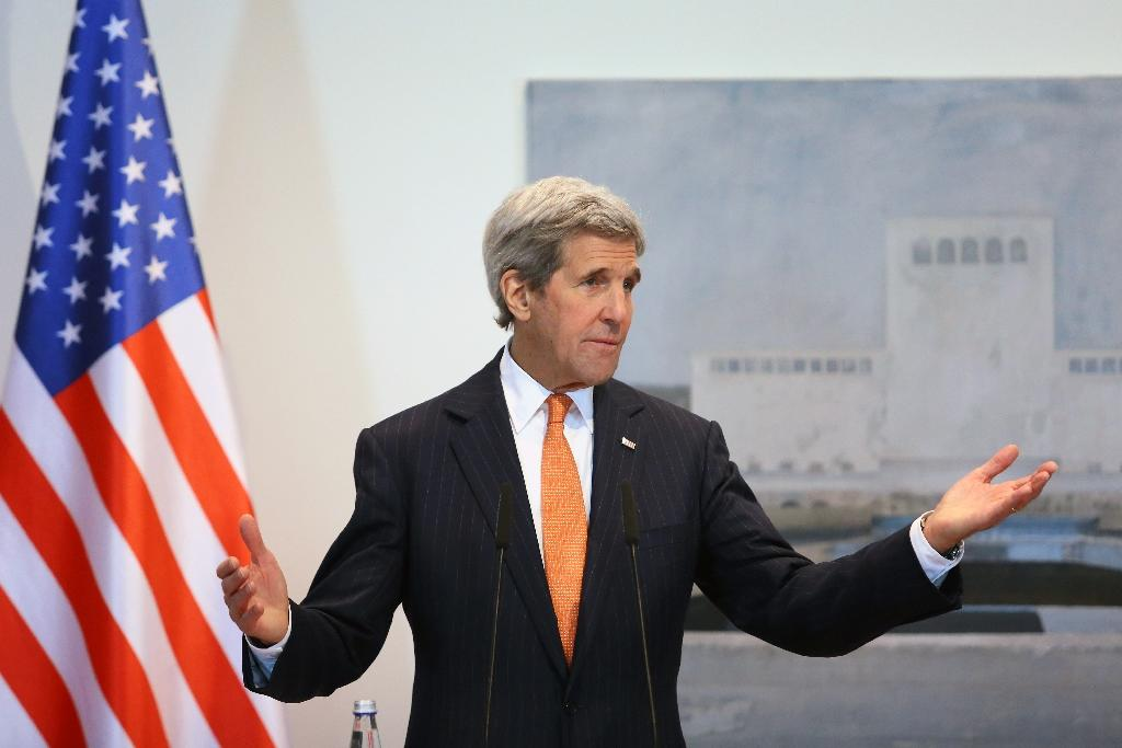 Kerry hails Albanian role in anti-IS coalition
