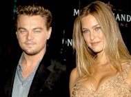 Leonardo DiCaprio and Bar Rafaeli. Photo: Ash Knotek/ZUMApress.com, Lalo Yasky/WireImage.com