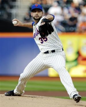 Gee pitches shutout ball into 8th, Mets beat O's