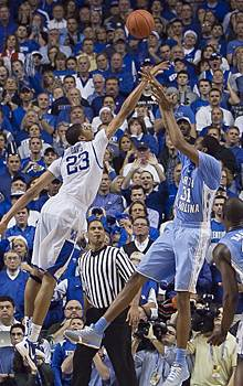 Kentucky's youngsters grow up against Carolina