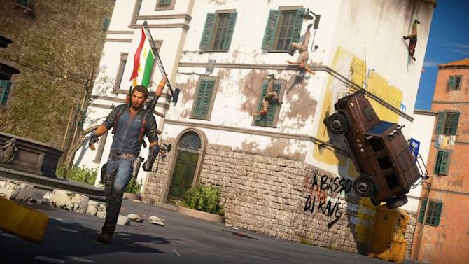 Just Cause 3 on Xbox One includes copy of Just Cause 2