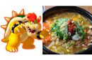 Bowser was named after this spicy Korean rice and soup dish