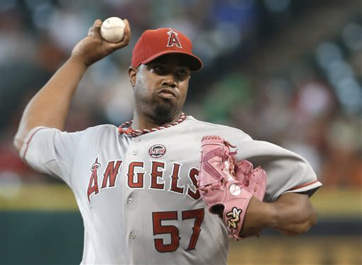 Angels beat Astros 4-2