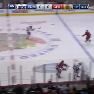 Oilers at Blackhawks / Game Highlights