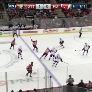 Craig Anderson Save on Eric Gelinas (16:50/1st)