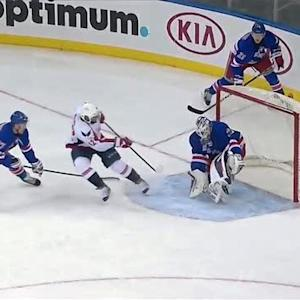 Henrik Lundqvist robs Caps twice on breakaway