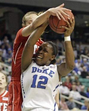 NC State women upset No. 5 Duke 75-73 in ACCs