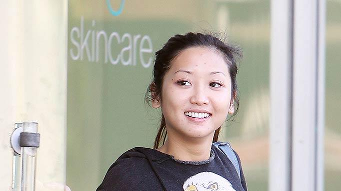 Brenda Song Leaves Skin Salon