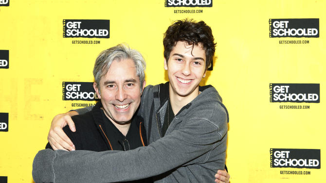 IMAGE DISTRIBUTED FOR GET SCHOOLED - Director Paul Weitz of ADMISSION and actor Nat Wolff host the GET SCHOOLED special screening of ADMISSION and Q&A at the Bronx Validus Preparatory School on Wednesday, March, 6, 2013 in New York City, New York. (Photo by Amy Sussman/Invision for Get Schooled/AP Images)