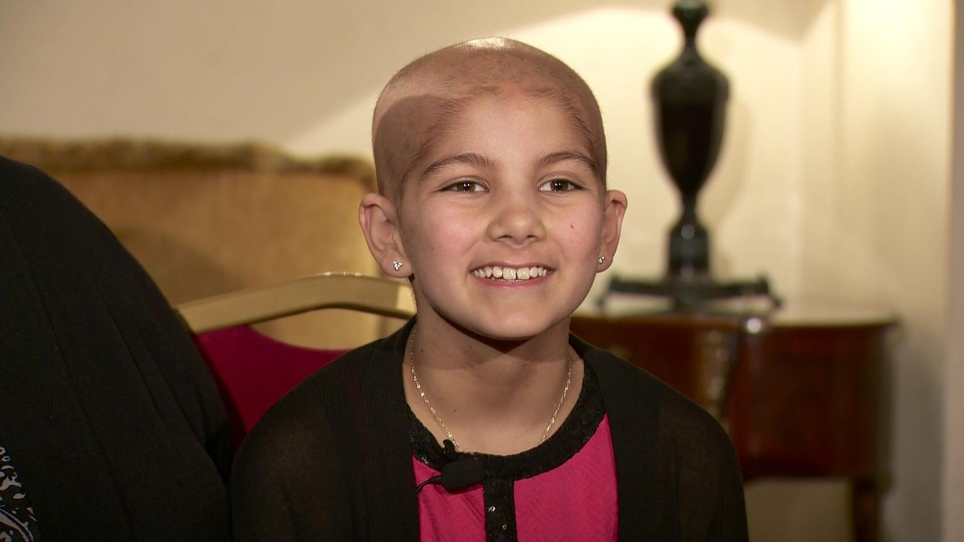 11-year-old cancer patient's papal wish granted