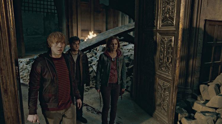 Harry Potter and the Deathly Hallows part 2 Warner Bros Pictures 2011 Rupert Grint Daniel Radcliffe Emma Watson