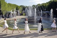The Chanel Cruise show at the Château de Versailles