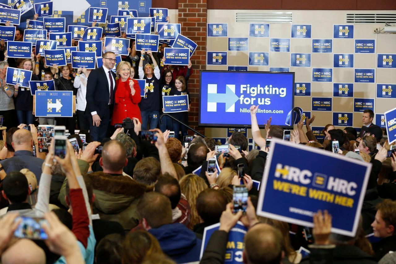 Inside the Human Rights Campaign as it stumps for Clinton in New Hampshire
