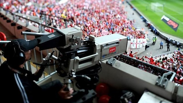 TV camera Wembley