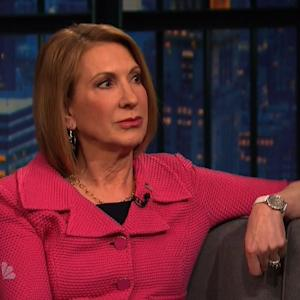 Carly Fiorina Describes Website Pointing Out Her Layoffs as 'Pretty Funny'