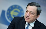 European Central Bank head Mario Draghi insisted the embattled euro was &quot;irreversible&quot; while the ECB was ready to intervene on the markets to force down bloc borrowing costs if need be