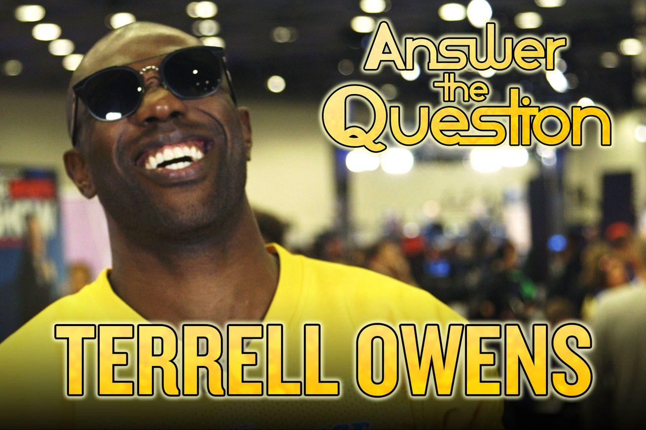 2016 Super Bowl: Terrell Owens' Southern accent nearly costs him in trivia