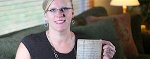 Letters sent from Nazi labor camp delivered 70 years later