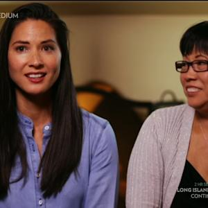 'Long Island Medium' Does Reading for Olivia Munn