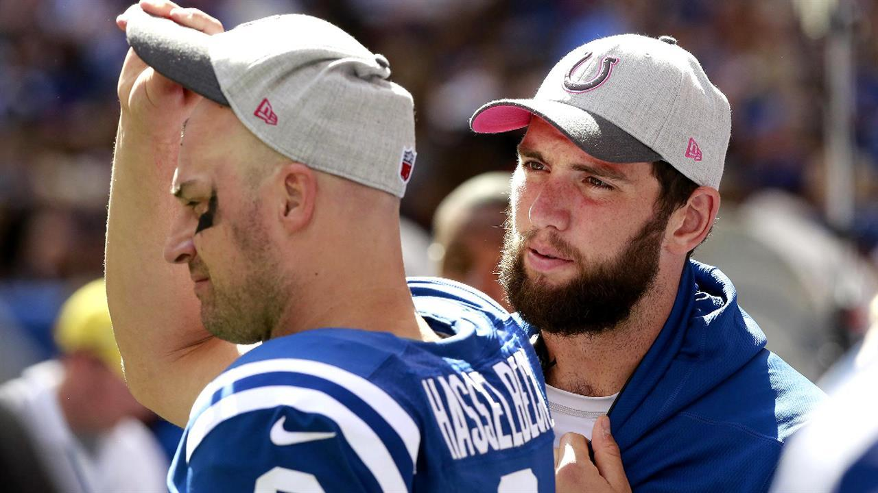 Luck still day-to-day ahead of Thursday matchup