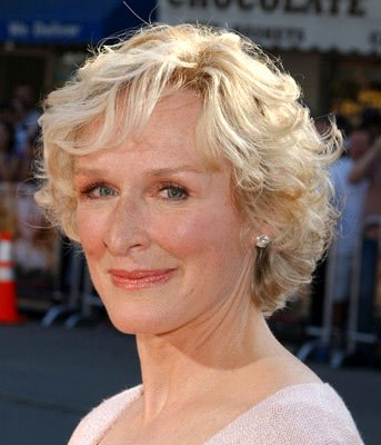 Glenn Close at the Los Angeles premiere of Paramount's The Stepford Wives