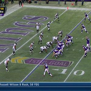 Minnesota Vikings wide receiver Cordarrelle Patterson 5-yard touchdown catch